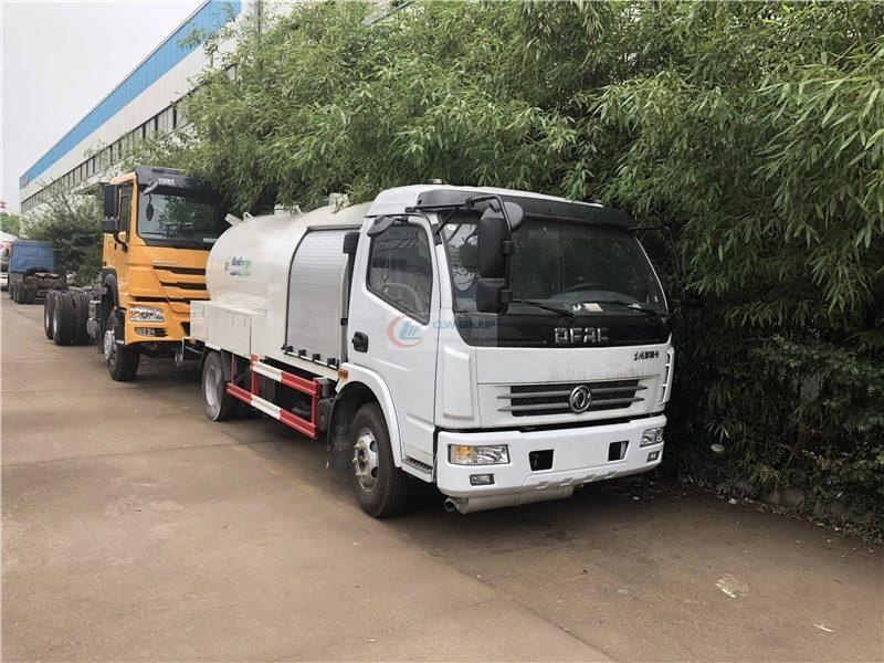 China Dongfeng 3000-5000 liters LPG tank truck