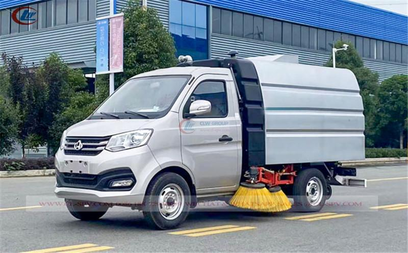 Changan mini road vacuum sweeper