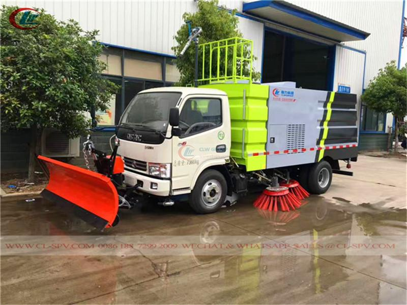 Dongfeng DFAC <a target='_blank' href='https://www.runtrucks.cn/city-sanitation-truck/road-sweeper'>road sweeper</a>