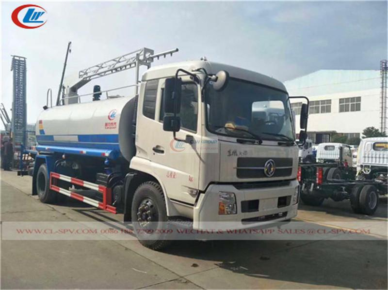 Dongfeng Tianjin Railway dust suppression truck