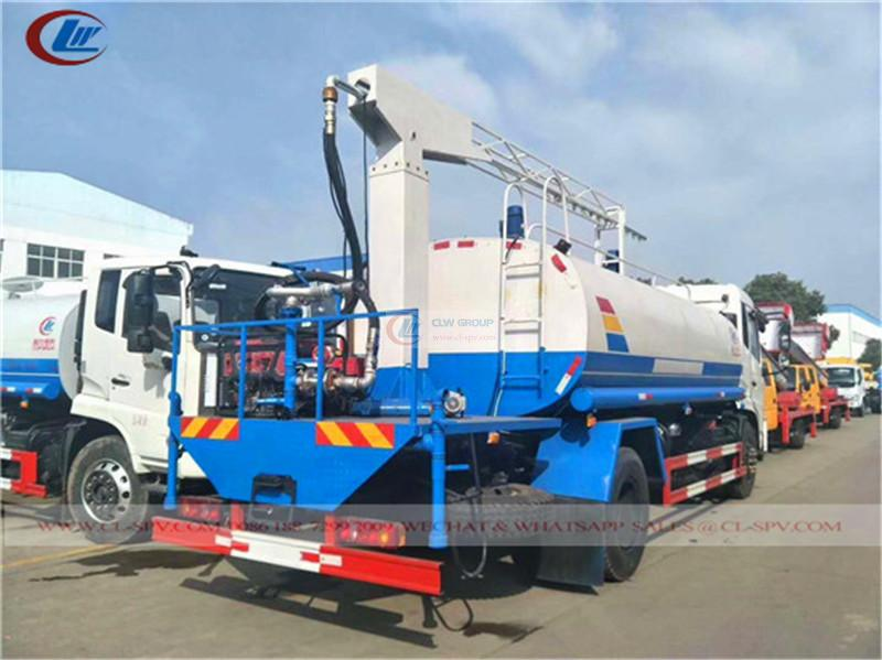 Dongfeng KR Railway dust suppression truck