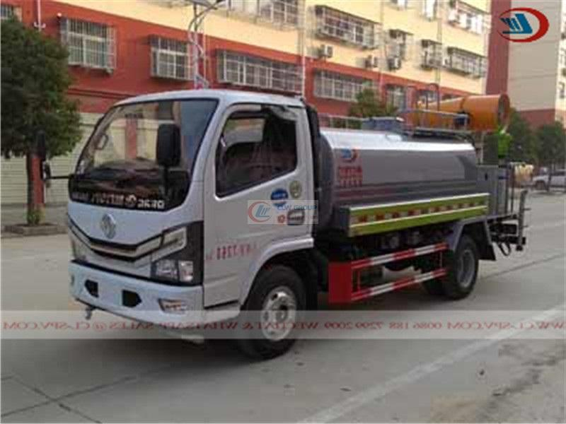 Euro Six Dongfeng 5 Ton Dust Suppression Truck