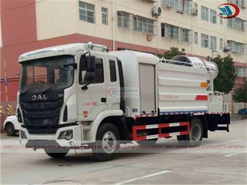 JAC multifunctional dust suppression truck