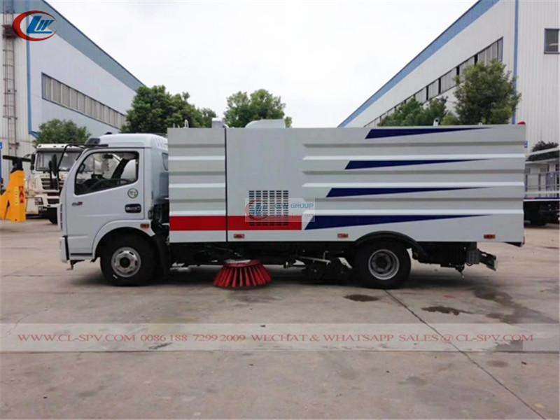 High quality Dongfeng road vacuum sweeper