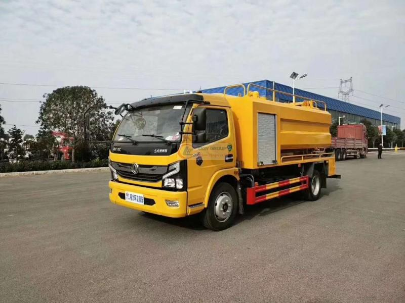 Introduction of  Euro  Sixth Dongfeng Daolika Cleaning and Suction Truck 7+3