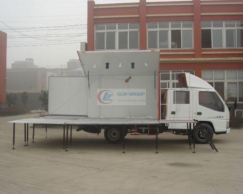 双排座江铃流动  Stage Truck