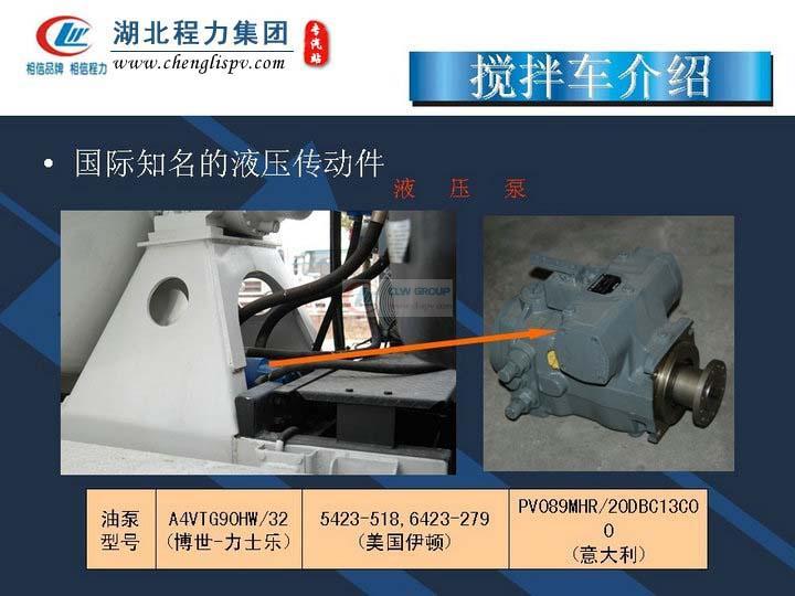 搅拌车液压泵介绍