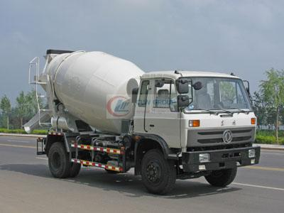 Dongfeng 153 concrete mixer truck (5-6 cubic meters)