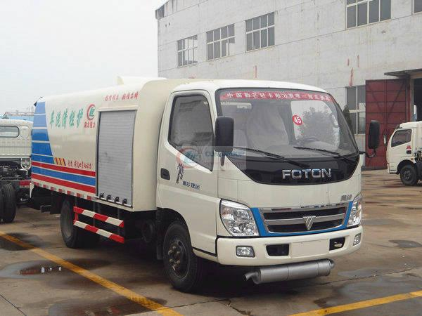 Foton Aoling MRT guardrail cleaning truck