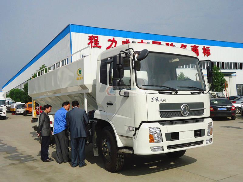 Dongfeng Tianjin Bulk Feed Transporter