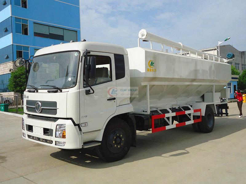 12吨散装饲料运输车图片
