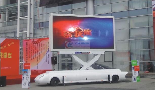 牵引式LED  LED Advertising truck 图片