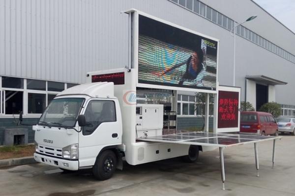 反  LED Advertising truck
