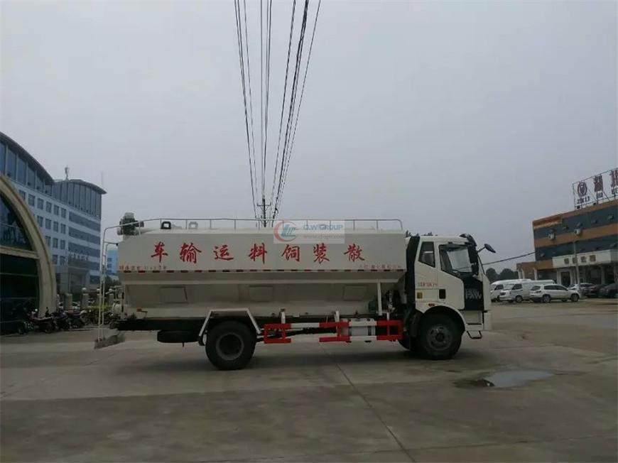 解放J6饲料运输车
