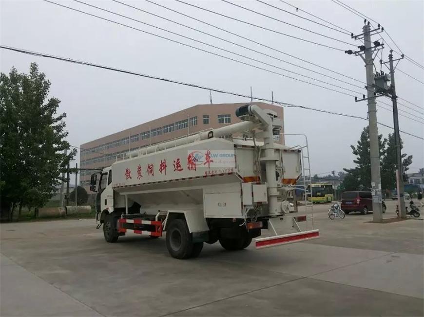 解放J6饲料车
