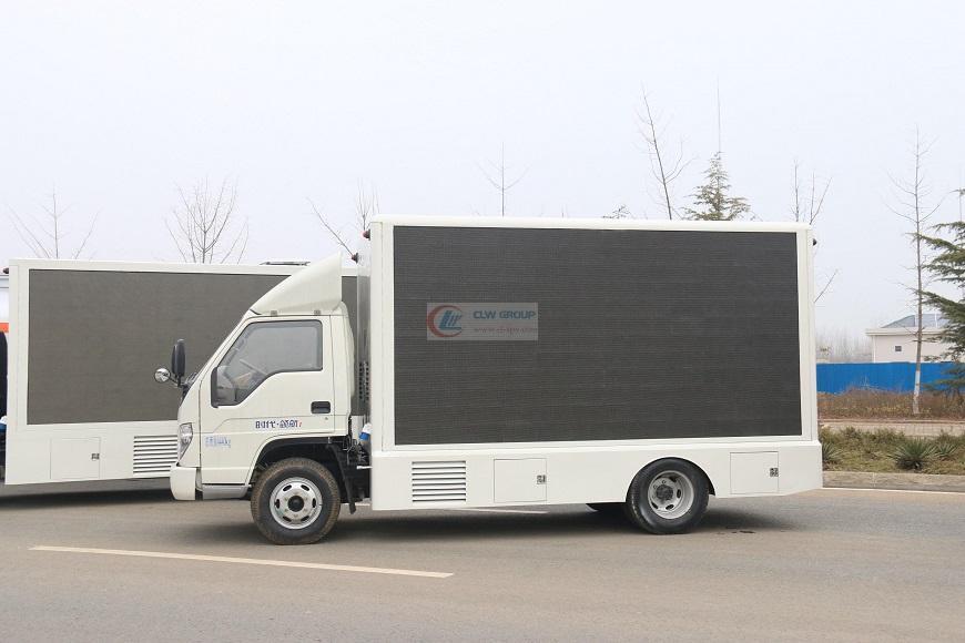 福田领航led  LED Advertising truck