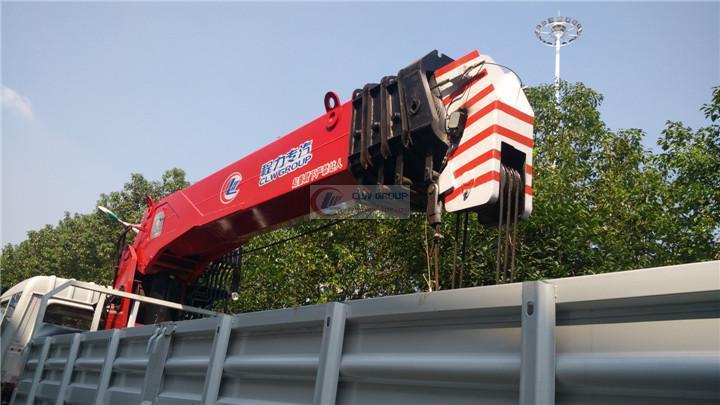 程力威16吨四节直臂式随车吊价格/图片/参数