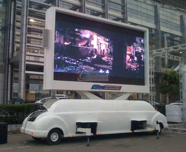 牵引式户外LED  LED Advertising truck