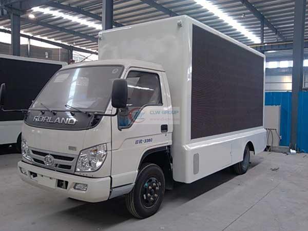 福田LED  LED Advertising truck 图片
