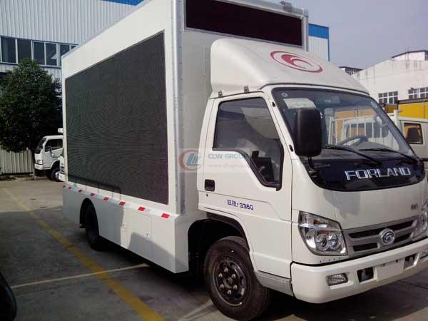 福田LED  LED Advertising truck