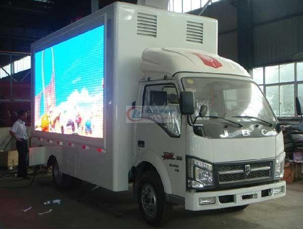 金杯高清全彩广告  LED Advertising truck
