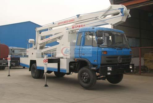 Dongfeng 153 aerial operating truck, aerial operating truck