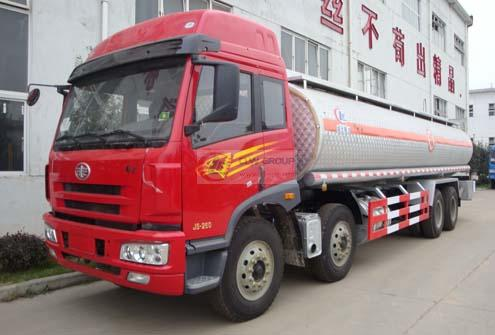 FAW 8X4 chemical liquid transport vehicles