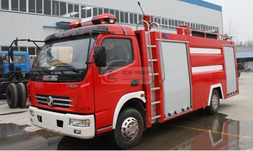 Dongfeng Duolika water tank fire truck (4T)