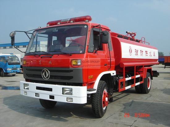 Dongfeng 145 extintores de incêndio