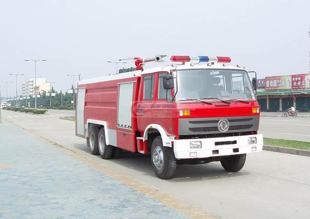 Dongfeng Shuangqiao Water Tank Foam Fire Truck (12-15T)