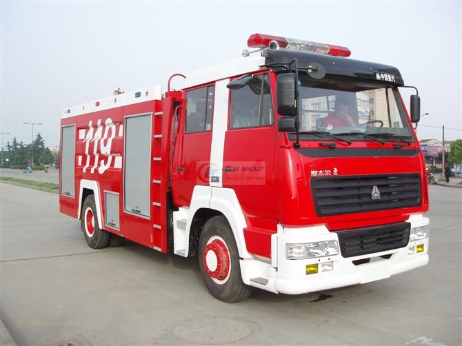 Steyr  4×2 foam fire truck
