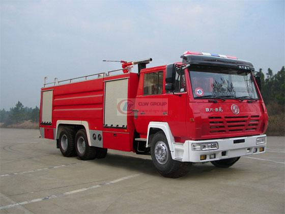 Shaanxi Automobile Single Bridge Foam Fire Truck