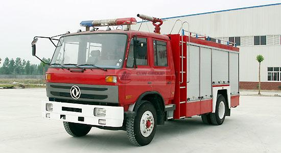 Dongfeng 153 dry powder fire truck