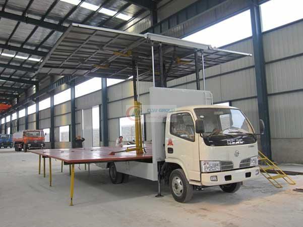 三面展开  Stage Truck 图片7