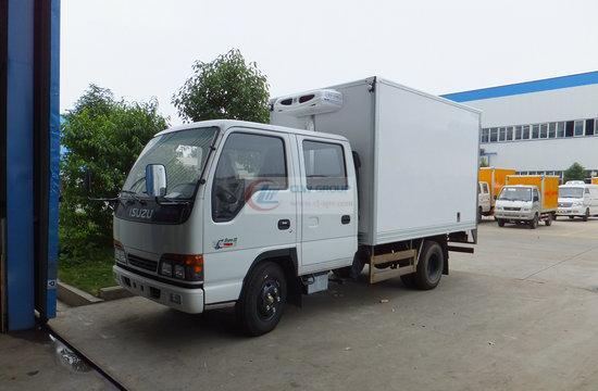 Isuzu Double Row Refrigerator Truck ( EuroFourth)
