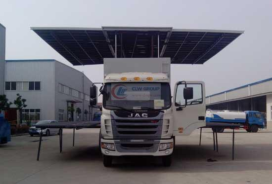 JAC   Stage Truck 正前