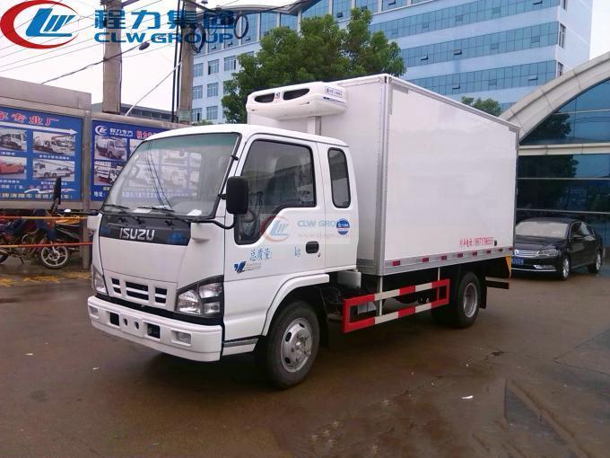 Isuzu(排半)冷藏车
