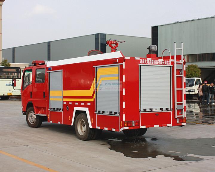 Isuzu消防车 3吨 Isuzu消防车 国四3吨消防车