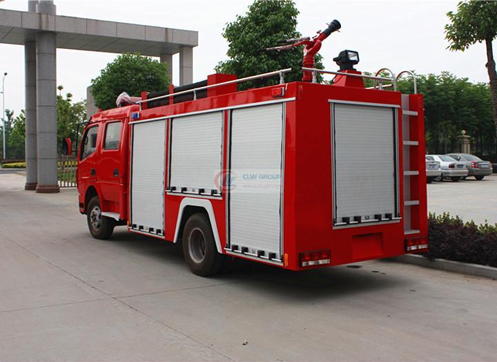 东风消防车 4吨消防车 多利卡消防车 水罐消防车