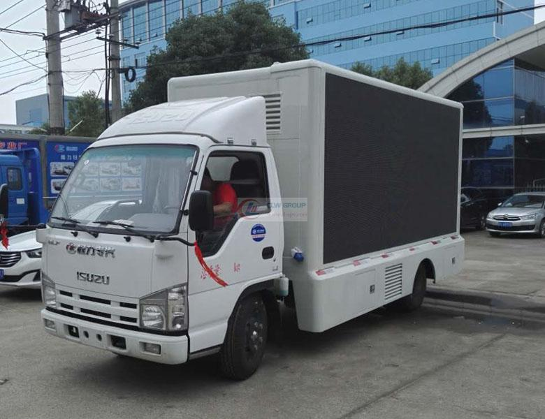 IsuzuLED  LED Advertising truck