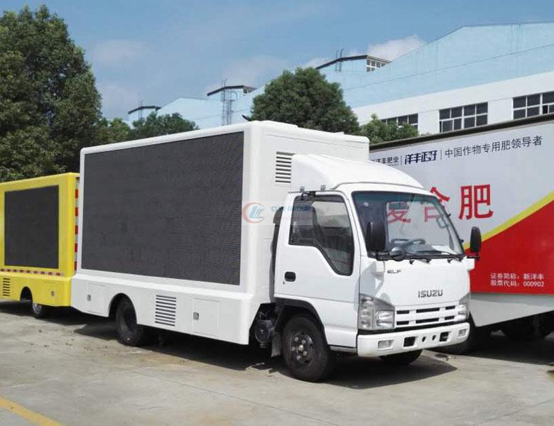 Isuzu LED advertising vehicle