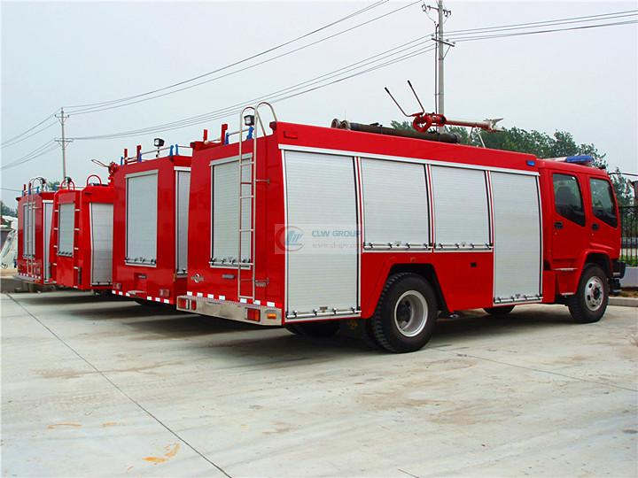 Isuzu消防车  Isuzu6吨消防车  Isuzu水罐消防车