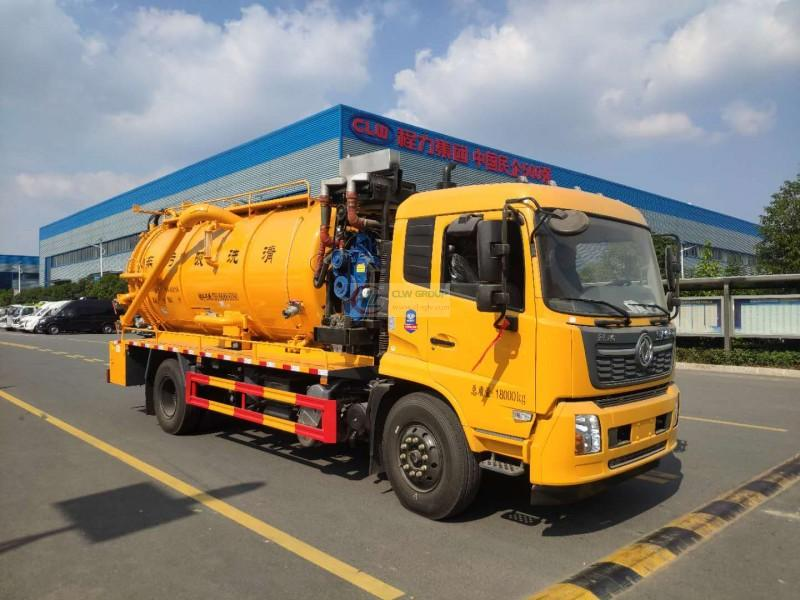 What configuration do you choose for sewage suction trucks operating in plateau areas?