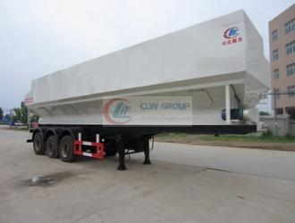 Bulk feed transport semi-trailer (49.2  cbm meters)