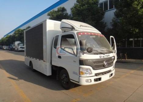 Foton Omark LED advertising vehicle ( EuroFourth)
