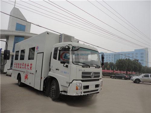 Véhicule mobile de don de sang de Dongfeng Tianjin