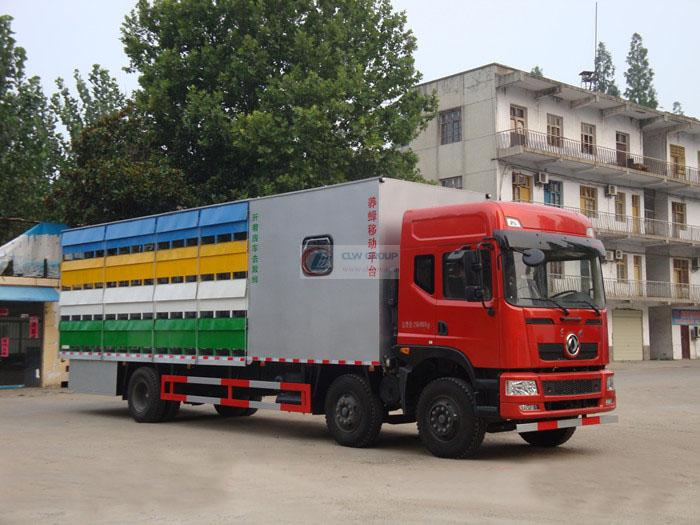 Dongfeng 9.6m beekeeping truck (with house)