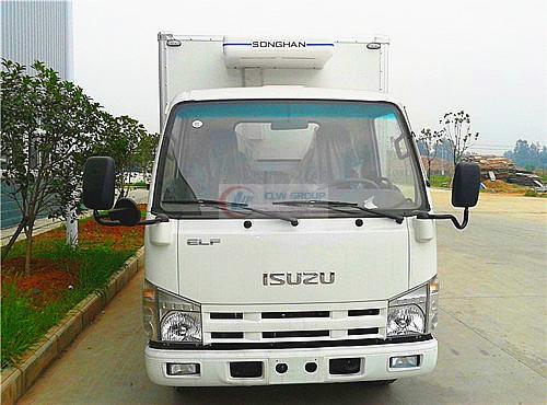 Isuzu600P冷藏车