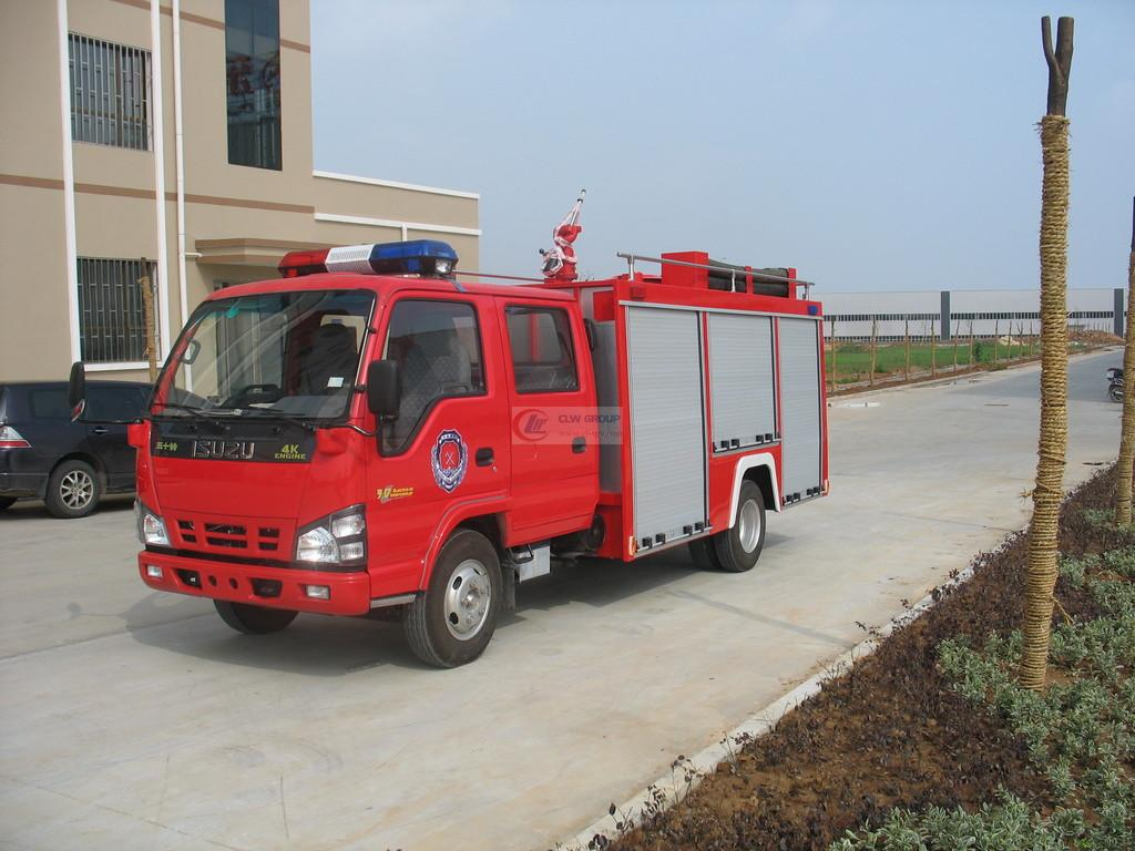 Isuzu3吨水罐消防车