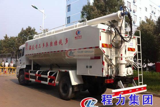 Hydraulic bulk feed transporter